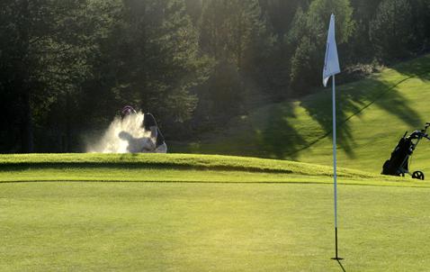120812 Idre Idre golfbana  Foto Nisse Schmidt